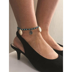Women 2 Choices Shell Anklets