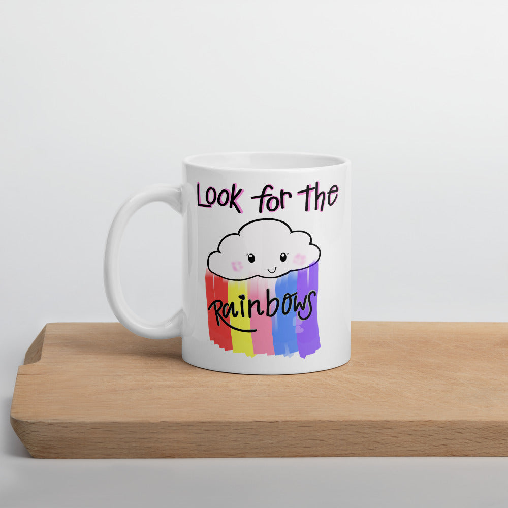 Look For Rainbows Mug