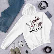 Load image into Gallery viewer, Positive Vibe Tribe Unisex Hoodie
