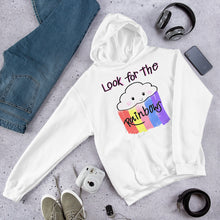Load image into Gallery viewer, Look For The Rainbows Hoodie