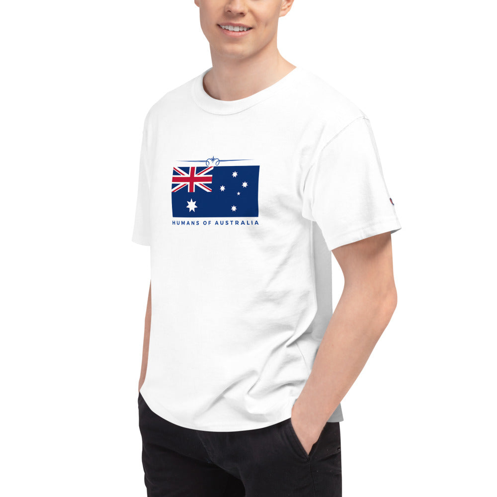 Humans of Australia x Champion Unisex T-Shirt