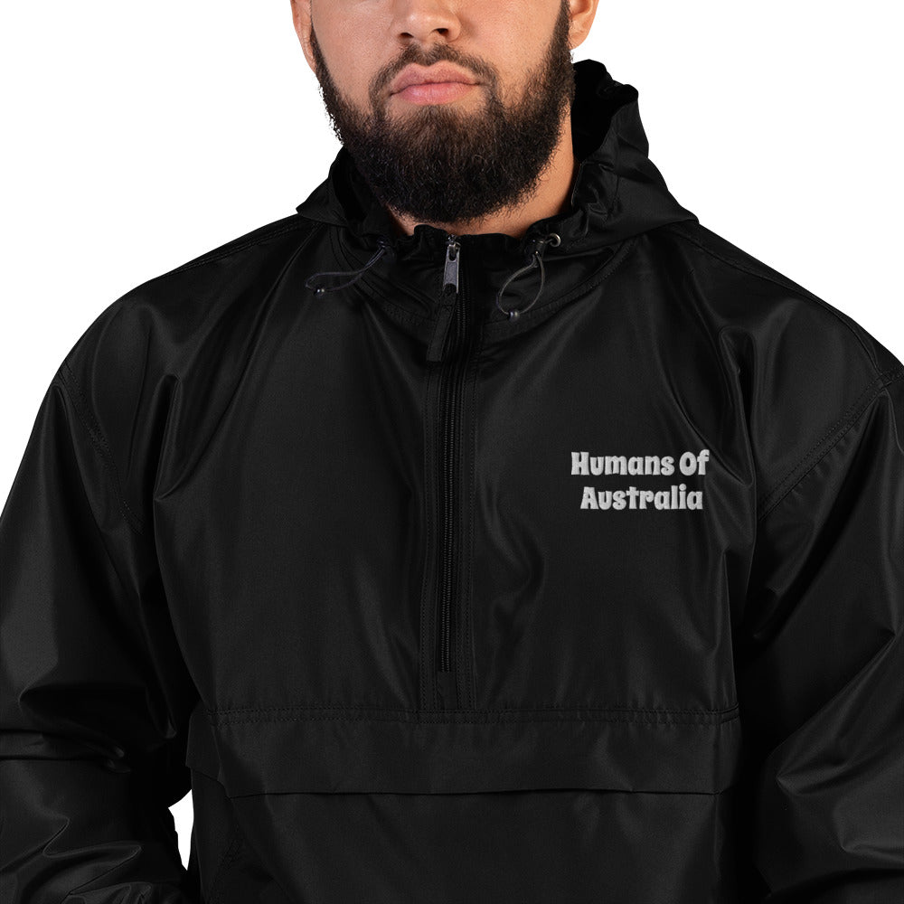 Humans Of Australia x Champion Embroidered Packable Jacket
