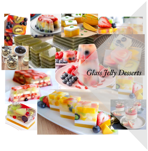 Glass Jelly Dessert Workshop