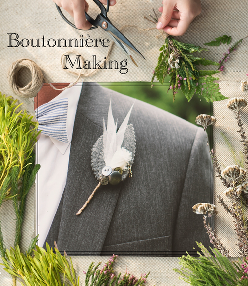 Custom Boutonnière Making