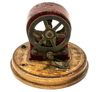 Rare model of an early three phase motor designed by Nikola Tesla. (Early 1900's)