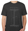 Bethlehem Steel I-Beams Schematic T-shirt