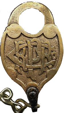 The Pennsylvania Railroad Company Padlock