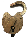 The Pennsylvania Railroad Company Padlock 1908