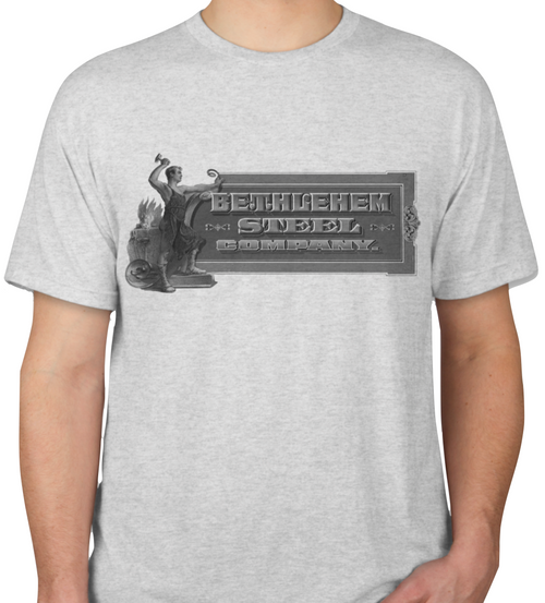 Uncirculated Bethlehem Steel Company Blacksmith T-Shirt