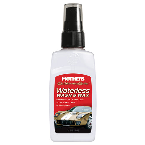 Mothers Waterless Wash & Wax, 3.4 oz
