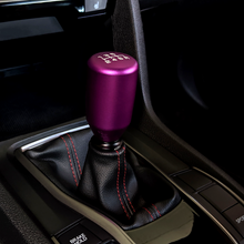 Load image into Gallery viewer, ESCO-T6 Shift Knob in Satin Purple Anodized Finish