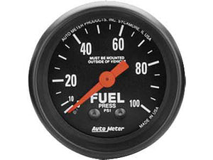 "AutoMeter - 2-1/16"" Fuel Pressure Gauge - 0-100PSI Z-SERIES"