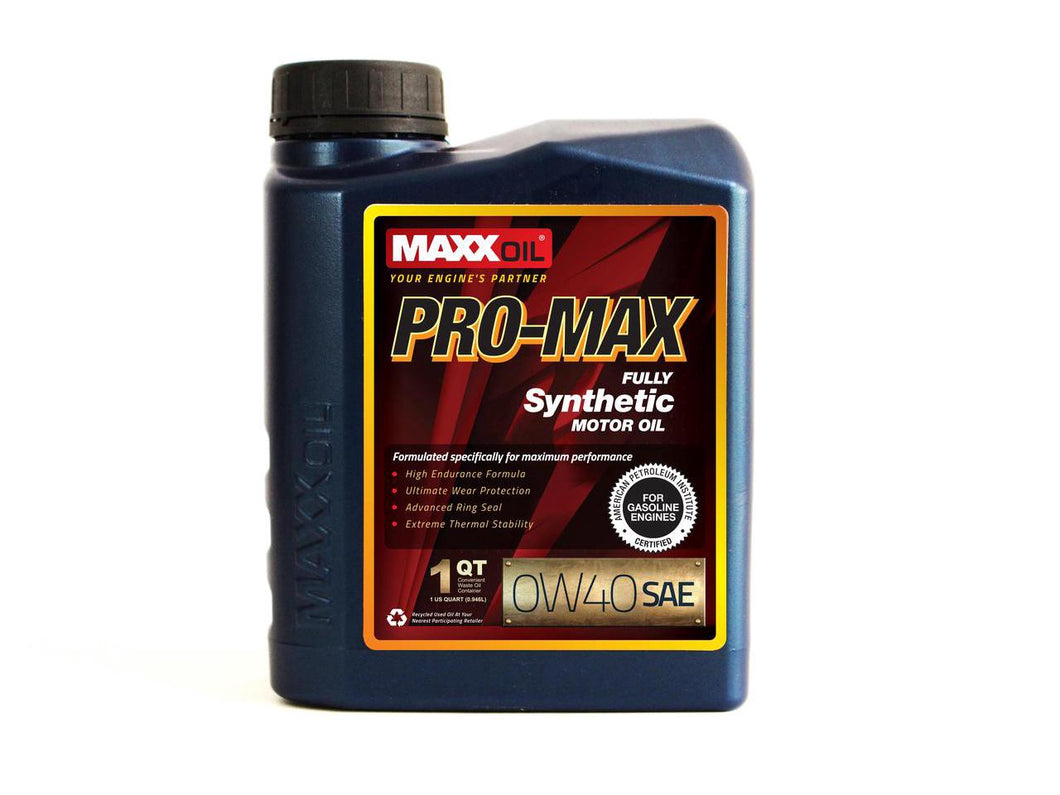Maxx Oil - PRO MAX 0W40 Synthetic