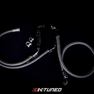 K-Tuned - Center Feed Fuel Line Kit (Inline Fuel Filter)