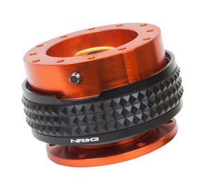 NRG - Quick Release PYRAMID GEN 2.1 (Orange Body/Black Ring)