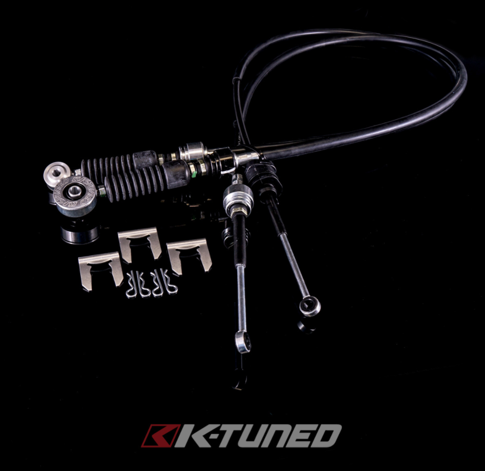 K-Tuned - OEM-Spec Shifter Cables  RSX Transmission