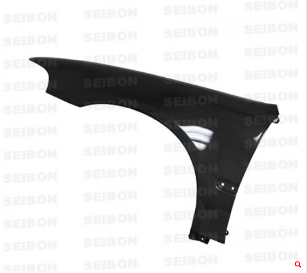 Seibon - OEM-Style Carbon Fiber Fenders for 92-95' Honda Civic 2DR