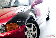 Load image into Gallery viewer, Seibon - OEM-Style Carbon Fiber Fenders for 92-95' Honda Civic 2DR