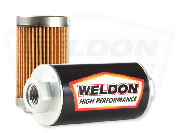 Weldon Racing - -12 ORB 10 Micron Cellulous Filter Assembly