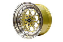 Load image into Gallery viewer, VMS Racing - Revolver Wheel 15x8 4x100/ 4x114.3 20 Offset Gold Or Black Milling Finish