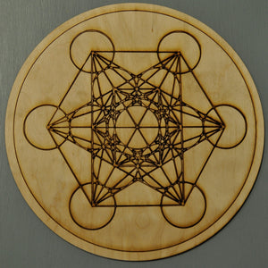Crystal Grid: Handmade locally [Wooden]