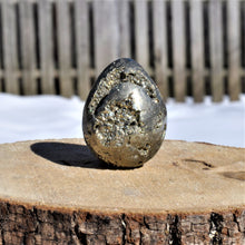Load image into Gallery viewer, Pyrite Egg