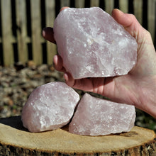Load image into Gallery viewer, Rose Quartz Raw Jumbo