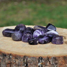 Load image into Gallery viewer, amethyst tumbled stones