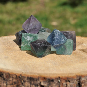 Fluorite raw pieces