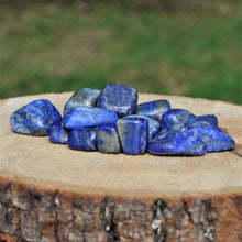 Load image into Gallery viewer, Lapis Lazuli tumbled stones