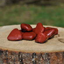 Load image into Gallery viewer, Red Jasper Tumbled Stones