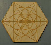 Load image into Gallery viewer, Crystal Grid: Wooden