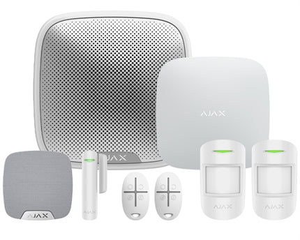 Ajax Hubkit1 White Intruder Alarm Kit supplied and fitted