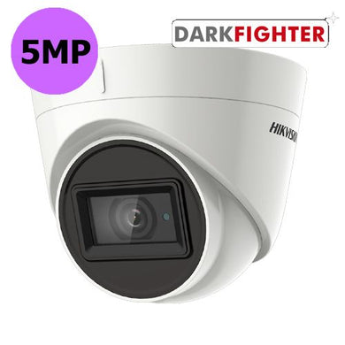 5MP Hikvision Darkfighter 1 to 4 camera system supplied and fitted