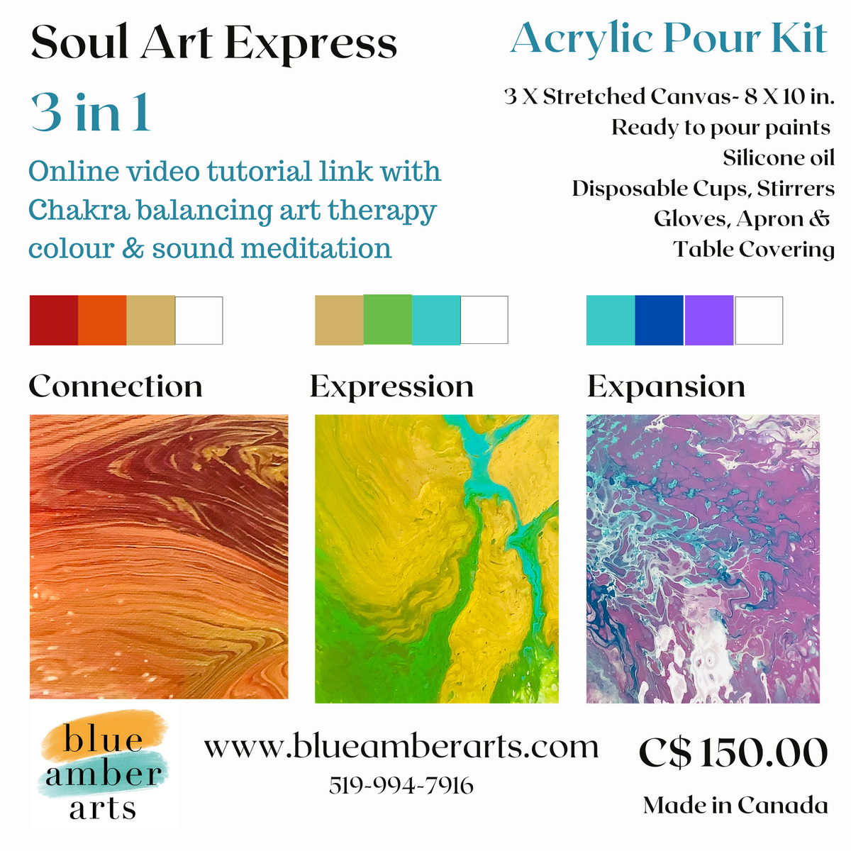 Soul Art Express: Chakra explorations