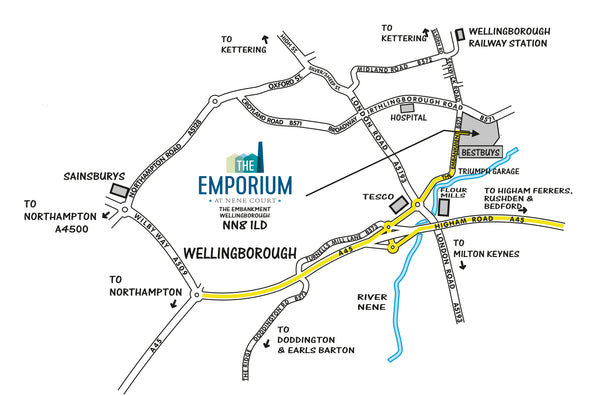 The Emporium - the home of handmade gifts in Northampton