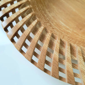 Wooden bowl with patterned edge - The Emporium - Buy Handmade - the home of handmade gifts in Northants