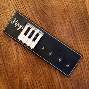 'Piano keys' key holder - The Emporium - Buy Handmade - the home of handmade gifts in Northants