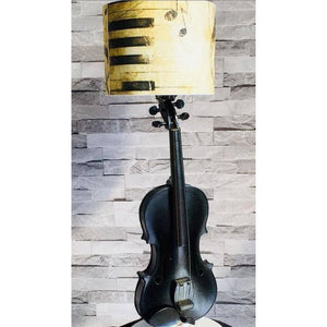 Upcycled violin lamp - The Emporium - Buy Handmade - the home of handmade gifts in Northants