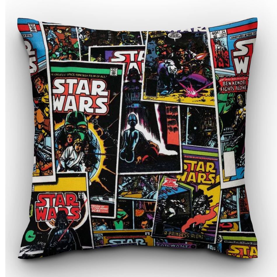 Star Wars Cushion - The Emporium - Buy Handmade - the home of handmade gifts in Northants