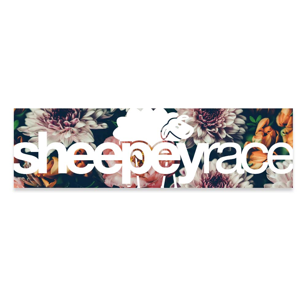 SHEEPEY Box Sticker Floral