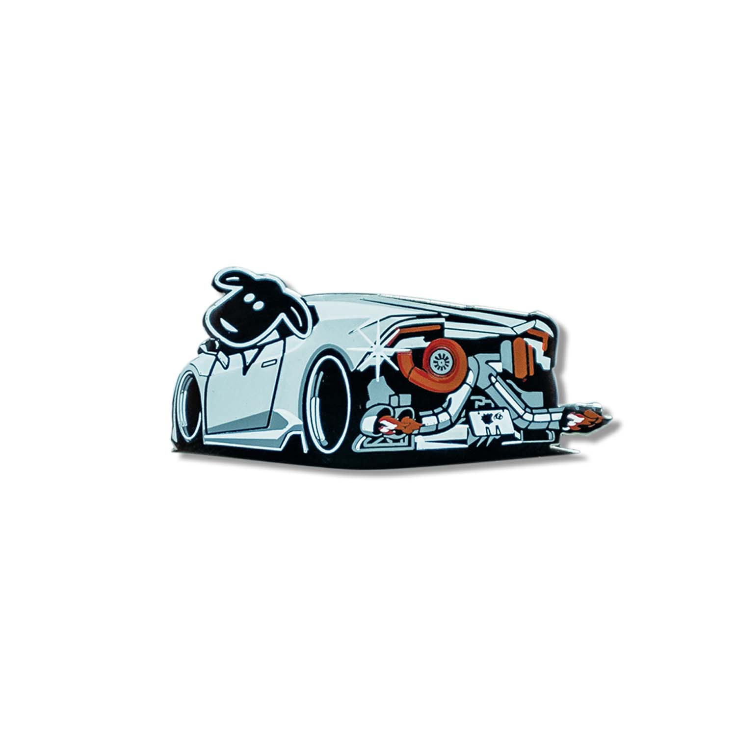SHEEPEYRACE Huracan Pin