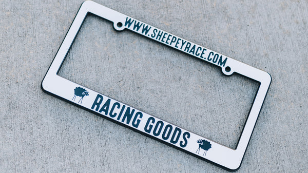 Sheepey Race - License Plate Frame