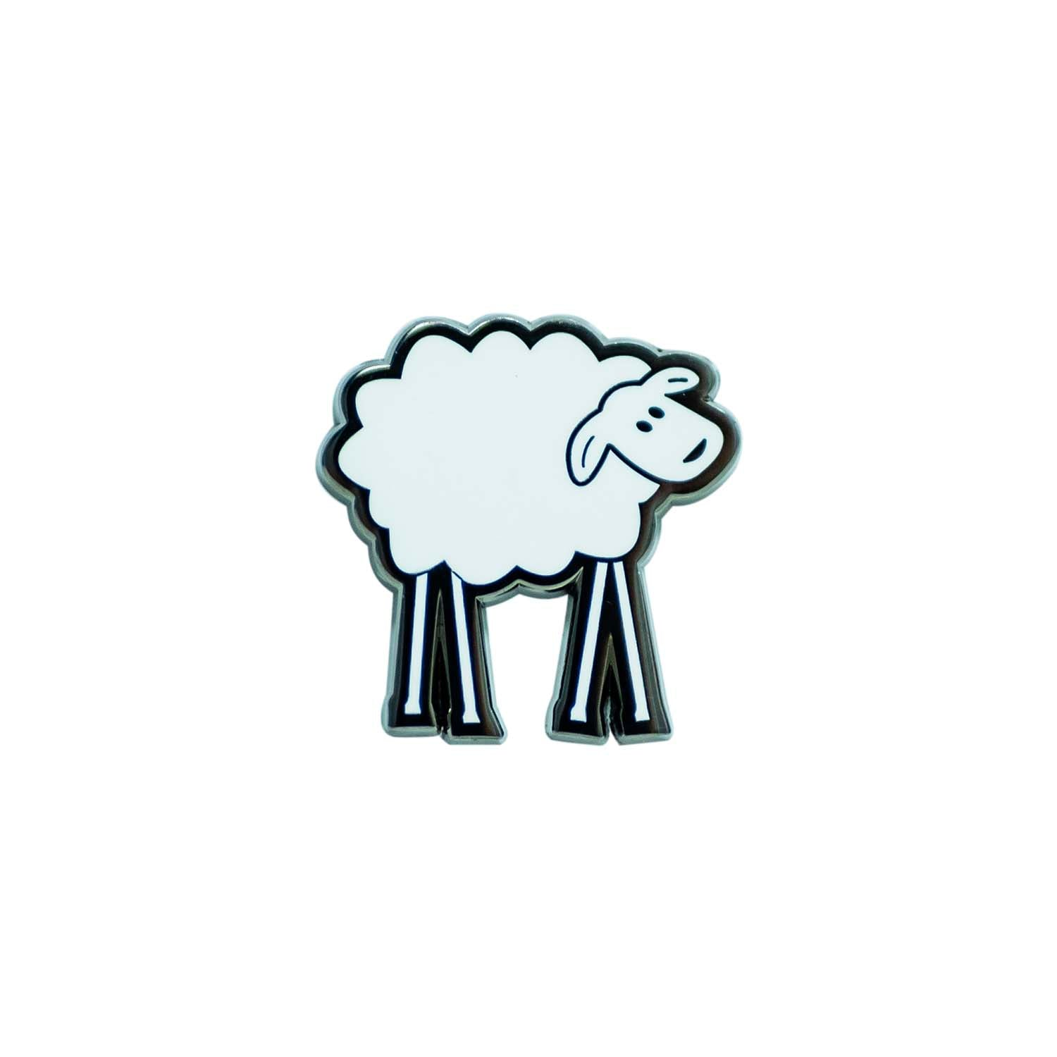 SHEEPEYRACE Logo Pin