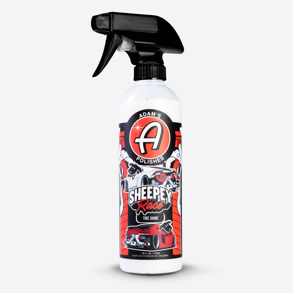 Adams Polishes X SHEEPEYRACE Tire Shine