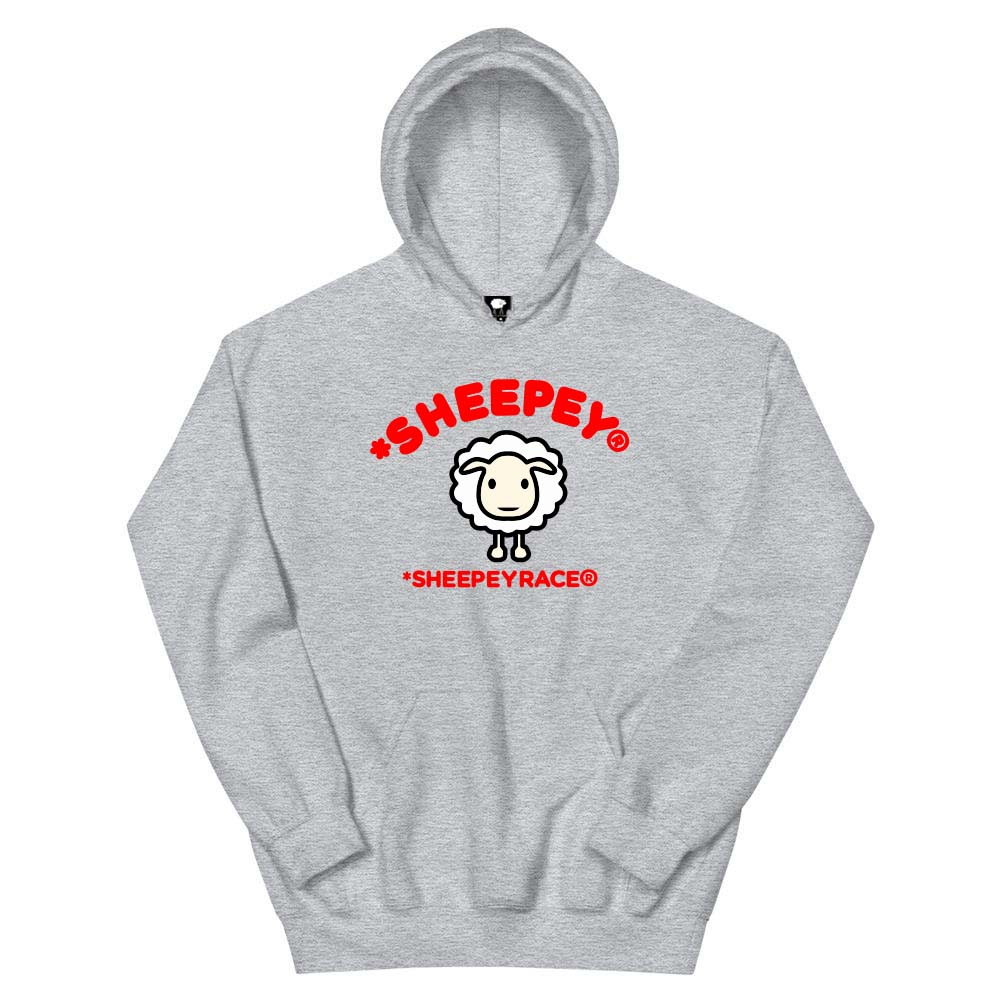 BABY SHEEPEY Hoodie Gray