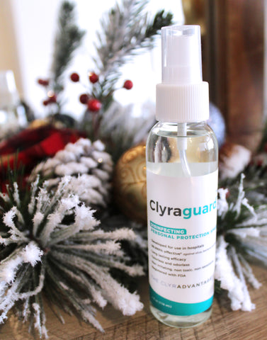 The Gift of Protection, Clyraguard as a Stocking Stuffer Idea
