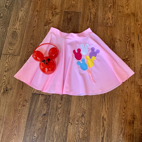 Mickey Balloon Circle Skirt