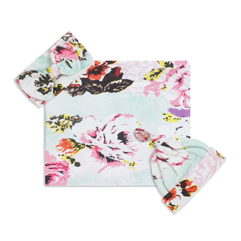 Herbsish Swaddle Set For Newborn Baby Boy And Girl | Swaddle Set For New Born Baby - comfymommyshop.in