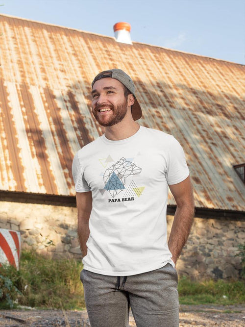 Mountain PAPA BEAR T-Shirt - comfymommyshop.in